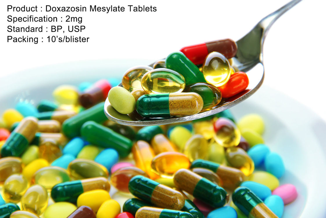 Doxazosin Mesylate Tablets 2mg Oral Medications